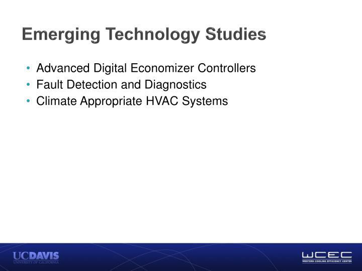 Emerging Technology Studies