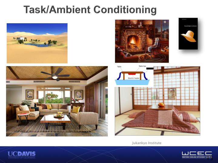 Task/Ambient Conditioning