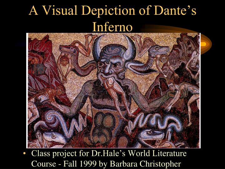 a visual depiction of dante s inferno n.