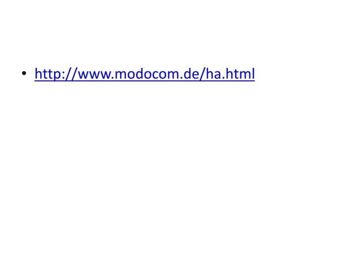 http://www.modocom.de/ha.html