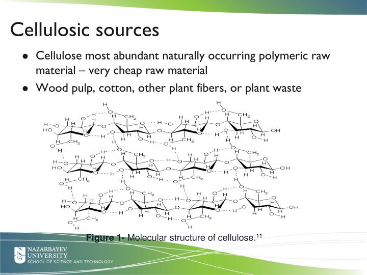 Cellulosic sources