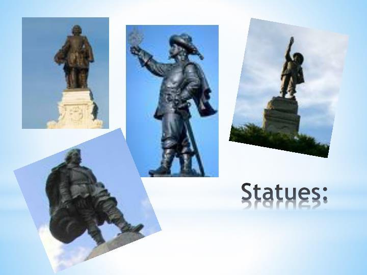 Statues: