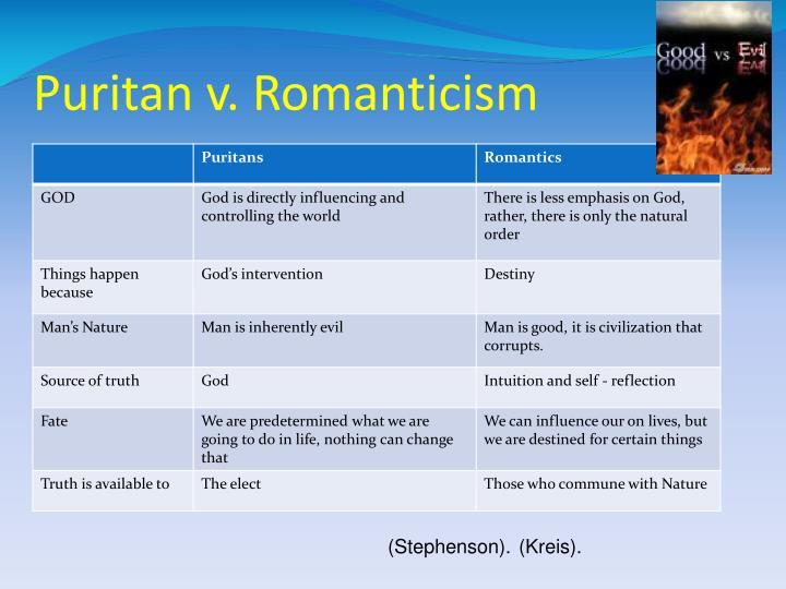 Puritan v. Romanticism