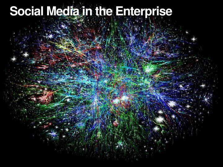 Social Media in the Enterprise