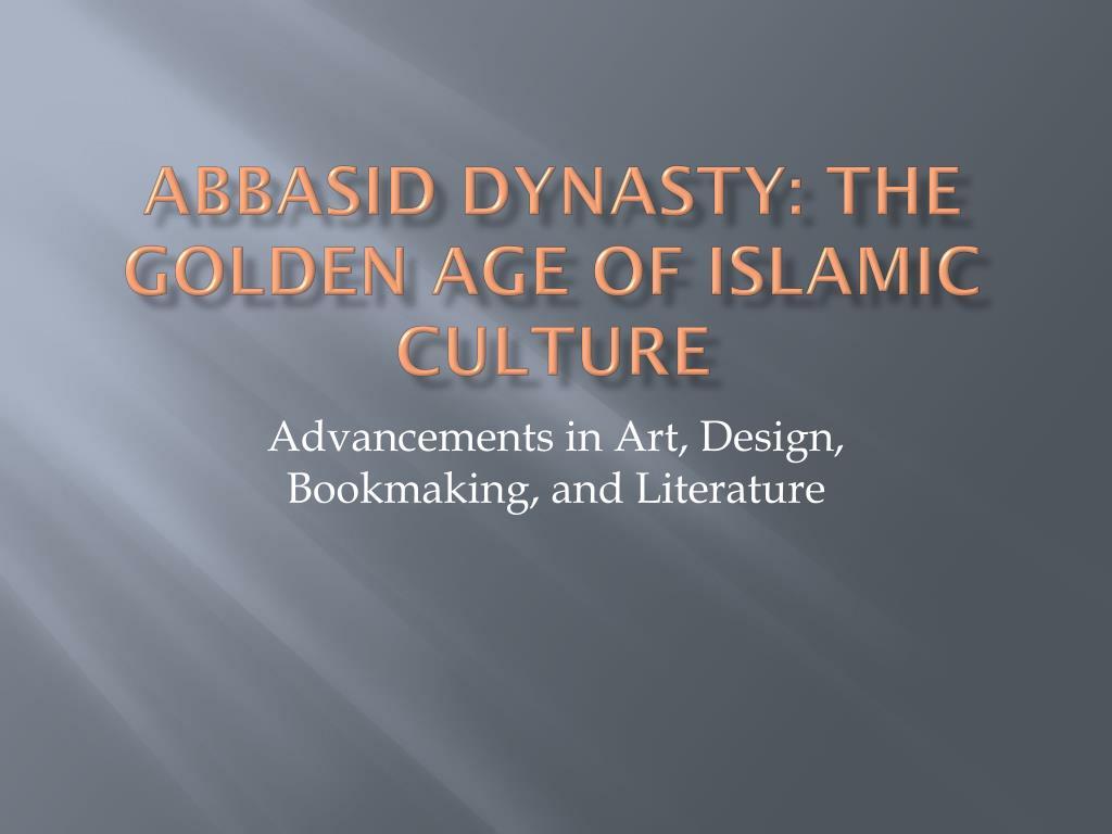 abbasid dynasty golden age