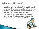 who was abraham