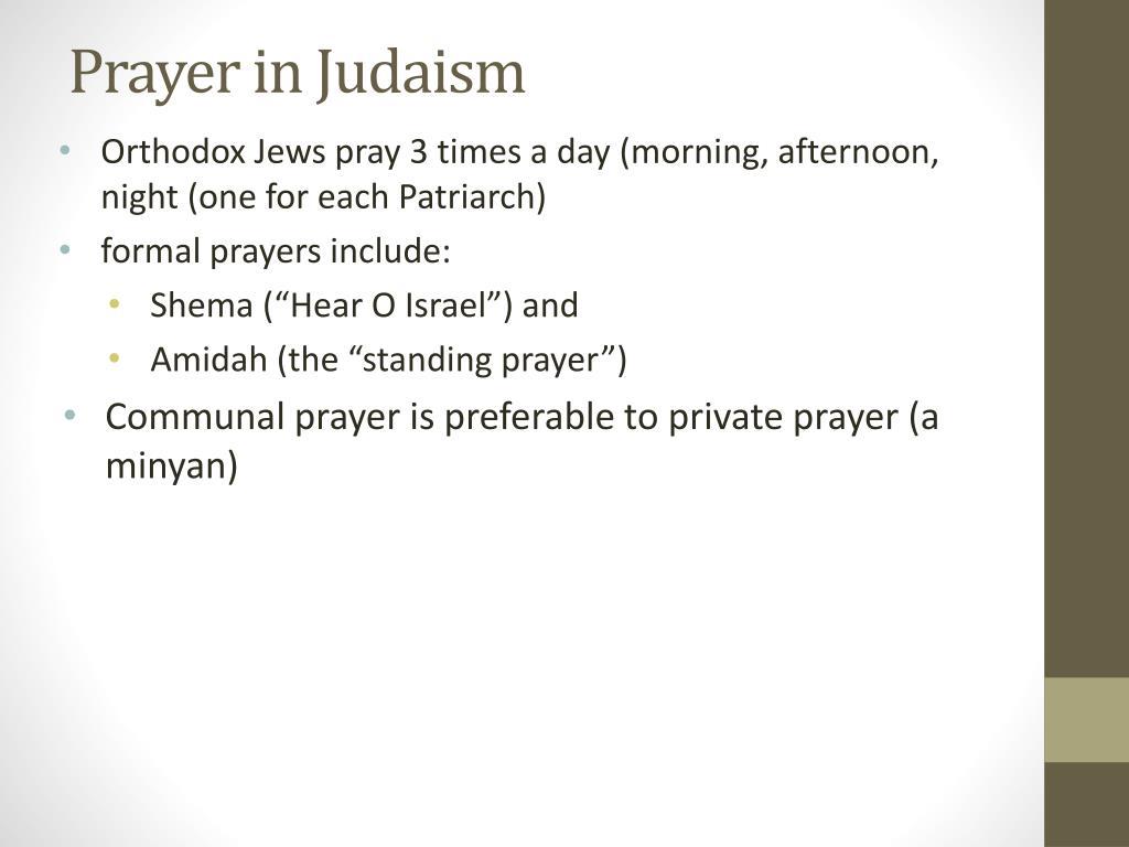 PPT - Prayer in Judaism PowerPoint Presentation - ID:2314667