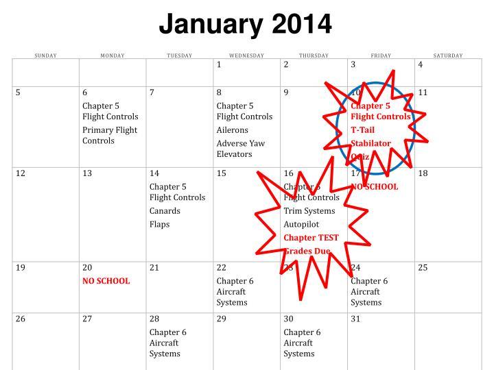 January 2014