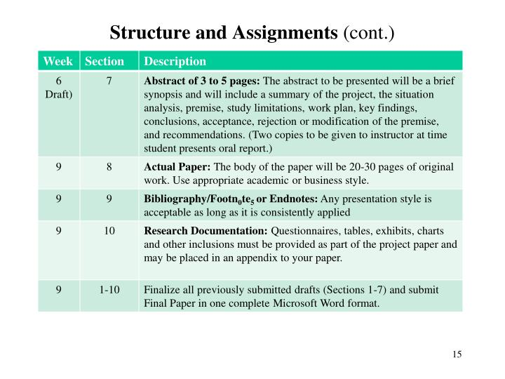 Structure and