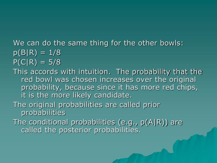 We can do the same thing for the other bowls: