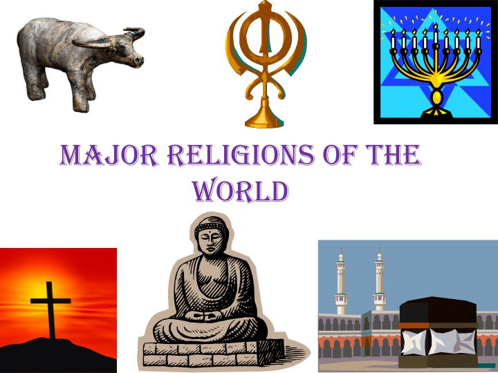 major religions of the world n.