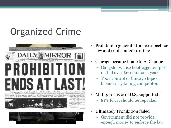 how organized crime groups sought to influence government Criminal organizations are very adaptive and are able to modify their behavior in response to pressure from governments and law enforcement.
