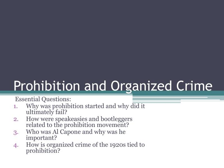 evolution of social disorganization and organized crime 700 - 1050 word paper on: what is social disorganization how does social disorganization relate to organized crime and its evolution how well does social.
