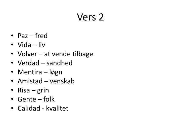 Vers 2