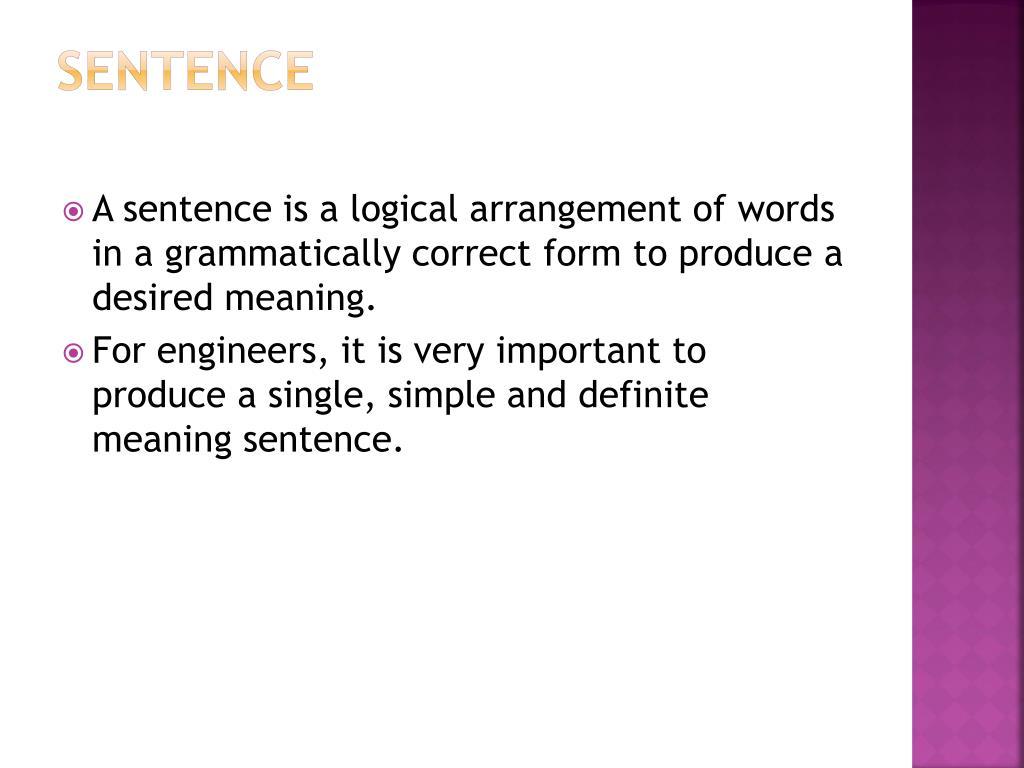 PPT - UNIT 2 WORDS SENTENCE PARAGRAPH PowerPoint Presentation - ID