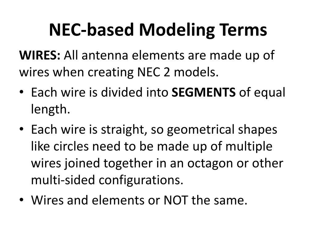 PPT - Using EZNEC to Model Antennas PowerPoint Presentation - ID:2316113