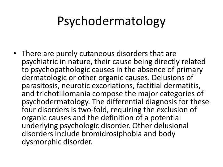 Psychodermatology