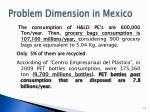 problem dimension in mexico