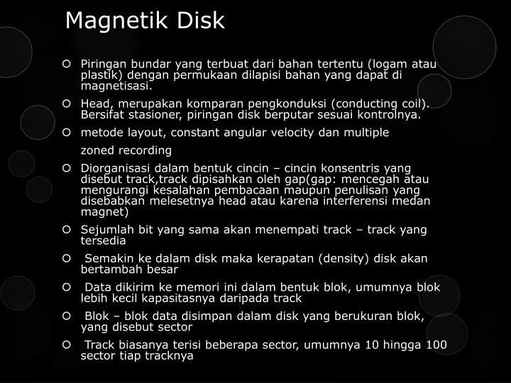 Magnetik disk