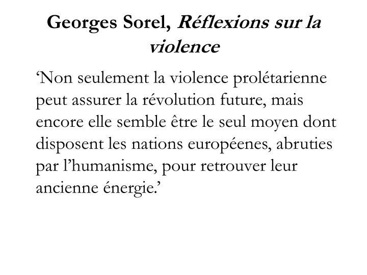 Georges Sorel,