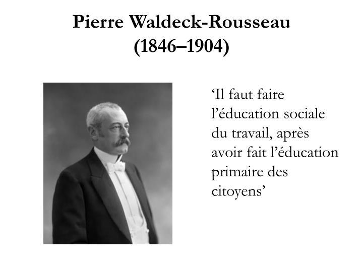 Pierre waldeck rousseau 1846 1904