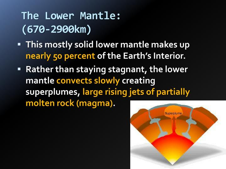 The Lower Mantle: