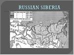 russian siberia