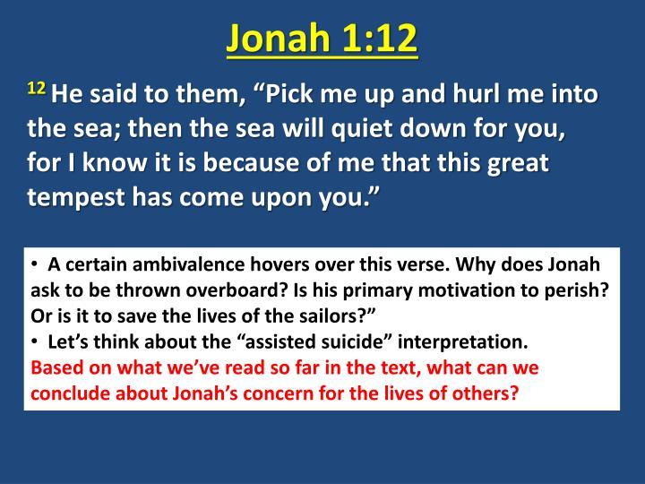 Jonah 1:12