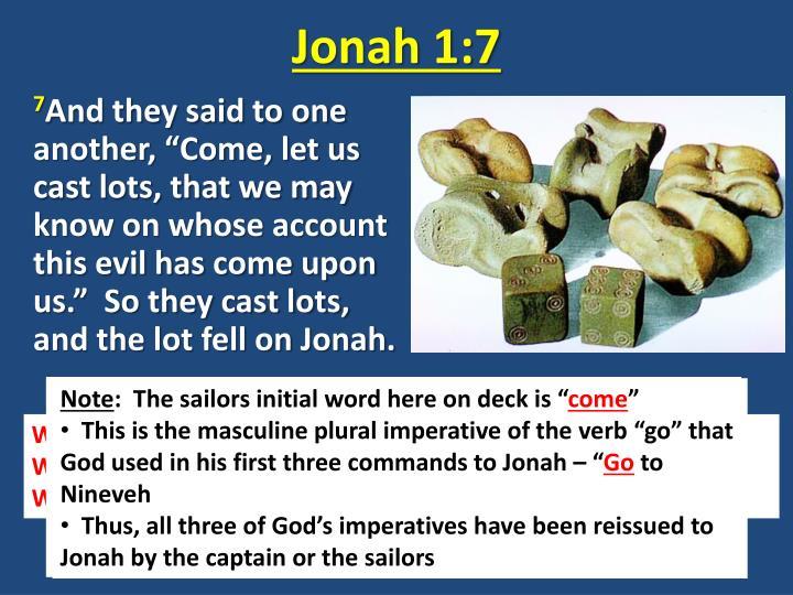 Jonah 1:7