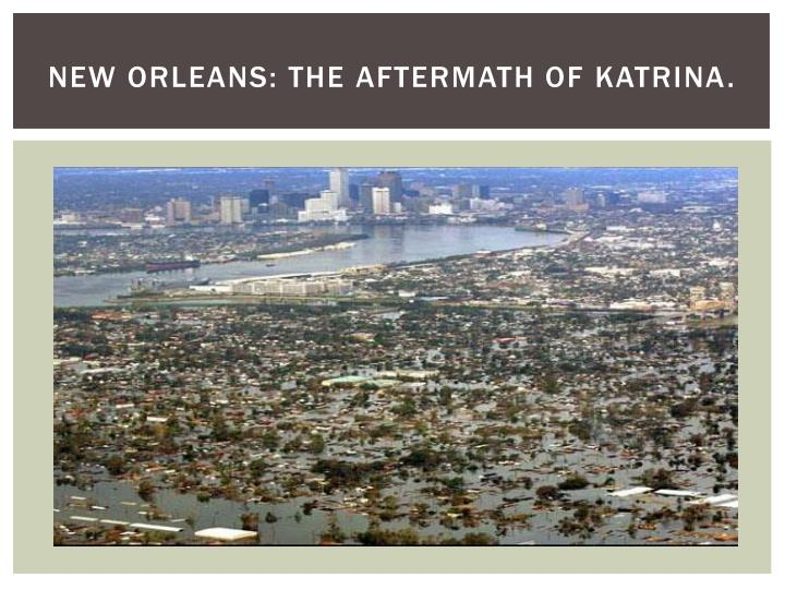 the us government poorly managed the aftermath of hurricane katrina The secret history of hurricane katrina there was nothing natural about the disaster that befell new orleans in katrina's aftermath james ridgeway august 28, 2009 11:00 am.