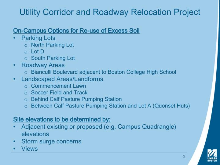 Utility corridor and roadway relocation project1