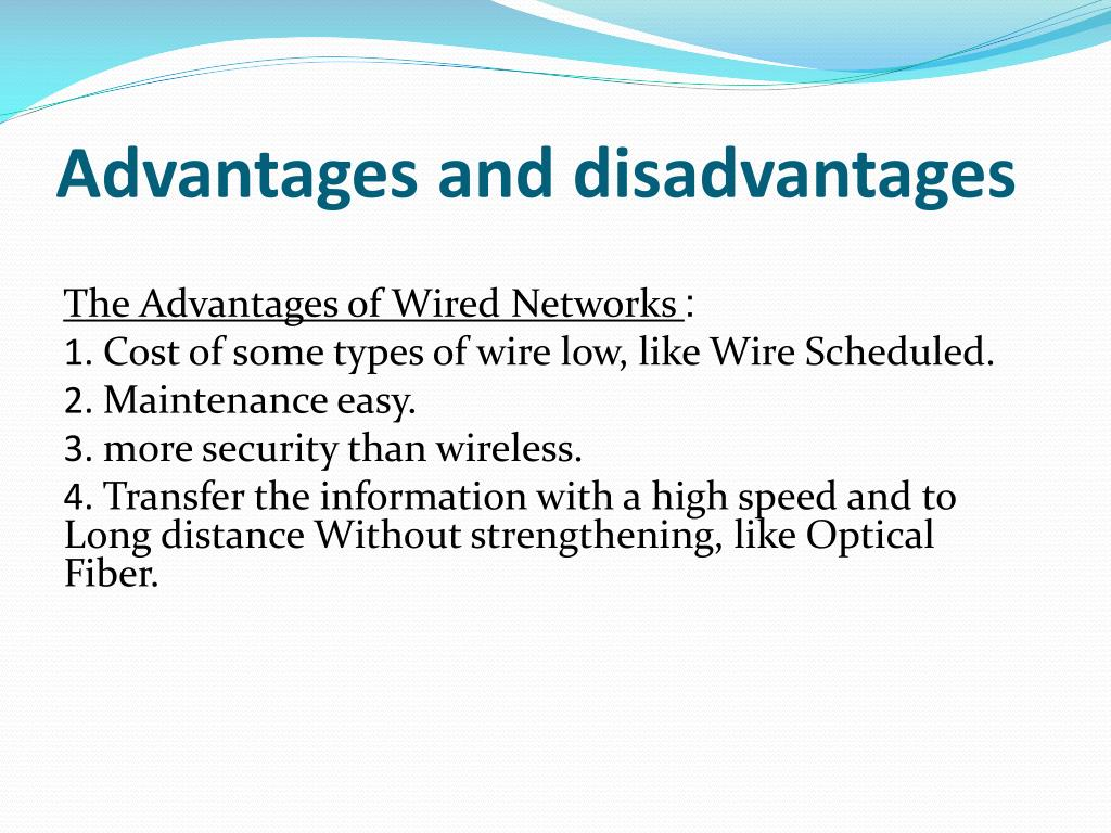 PPT - Wired Netwo rks PowerPoint Presentation - ID:2317197