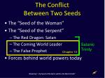 the conflict between two seeds
