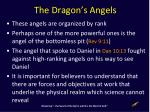 the dragon s angels