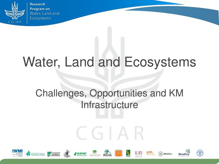 water land and ecosystems n.