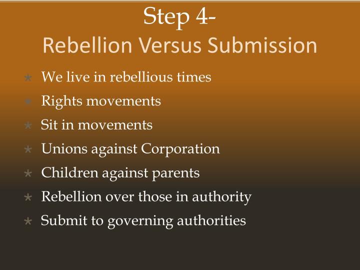 children vs authority rebellious attitudes to