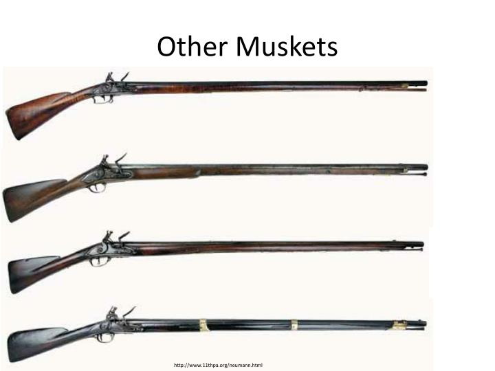 Other Muskets