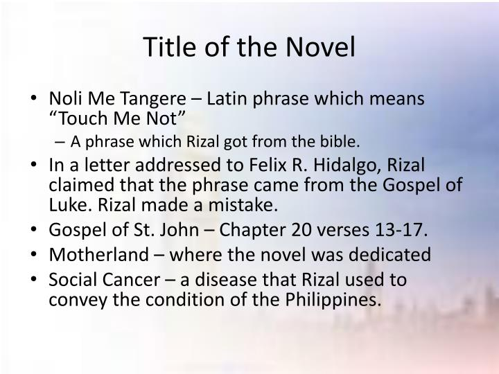 noli me tangere chapter 13 summary