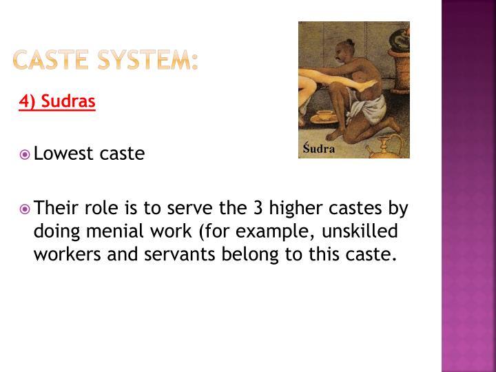 Caste system: