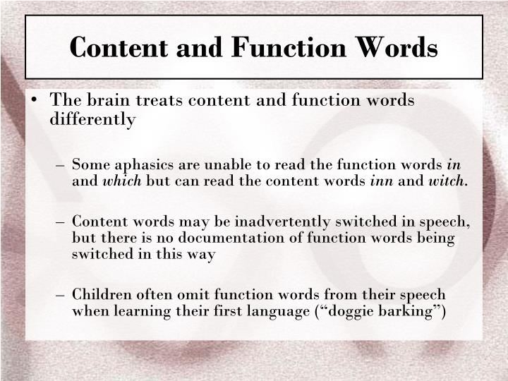 ppt ch 1 morphology the words of language powerpoint