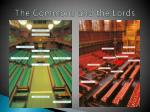 the commons and the lords