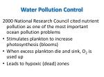 water pollution control2