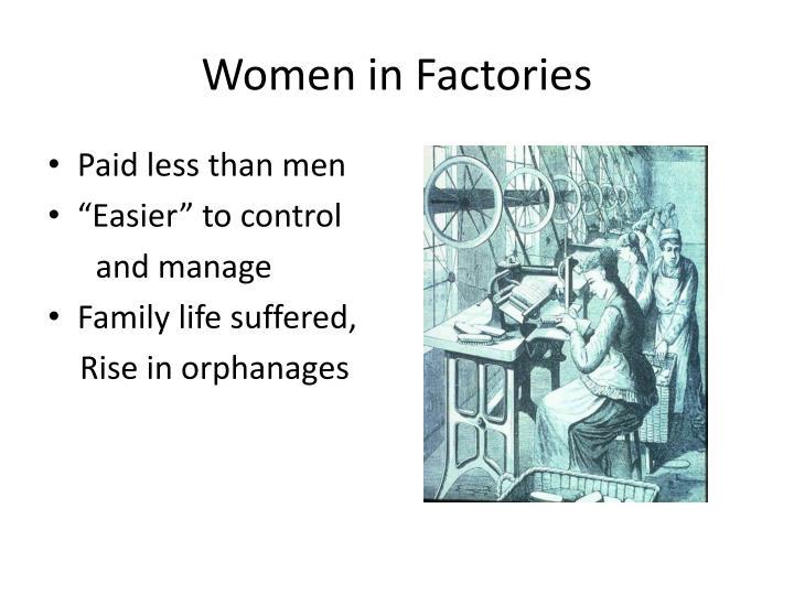 Women in Factories