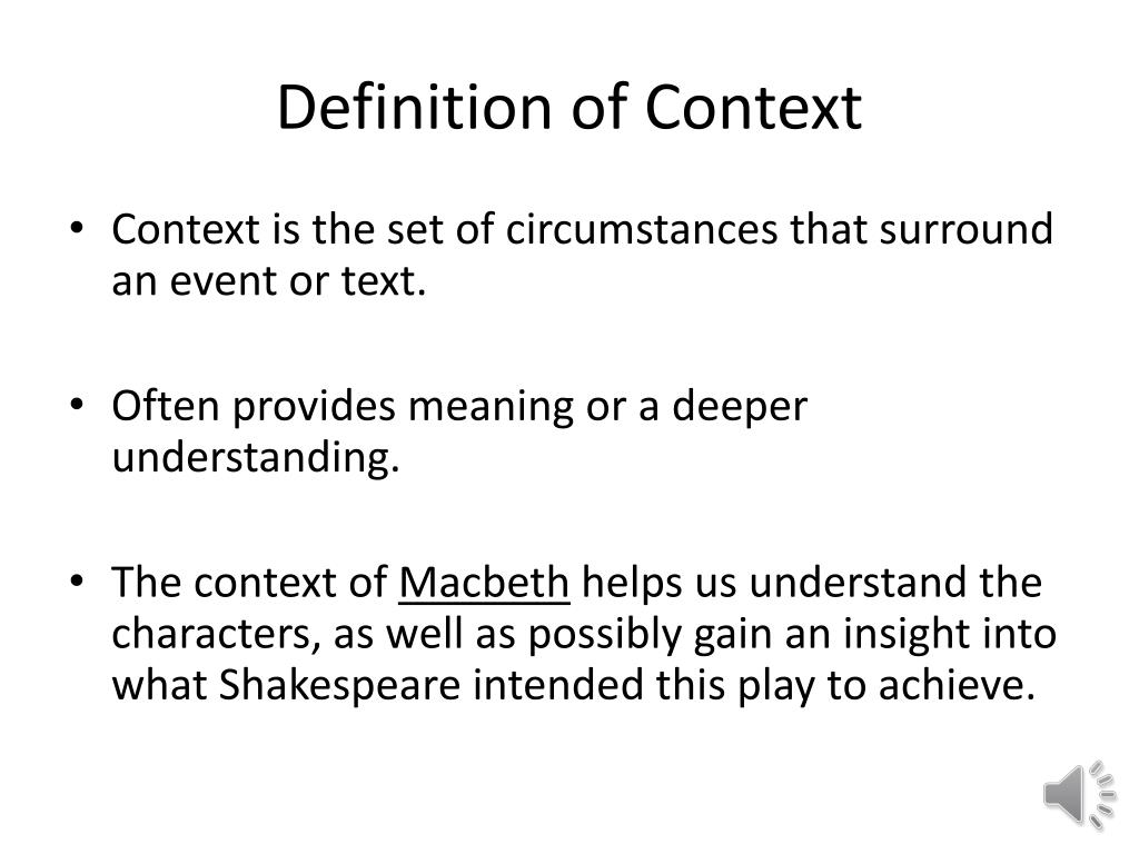 ppt - the context of macbeth powerpoint presentation