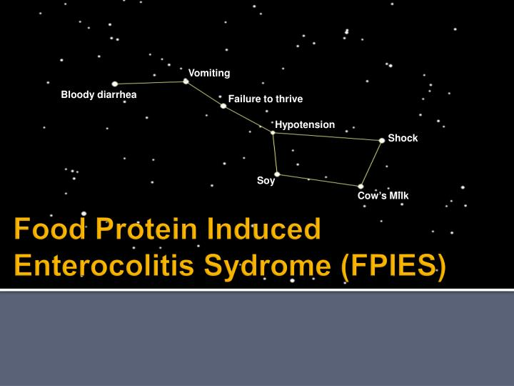 Ppt Food Protein Induced Enterocolitis Sydrome Fpies Powerpoint