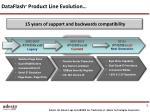 dataflash product line evolution