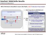 dataflash sram buffer benefits endurance enhancement