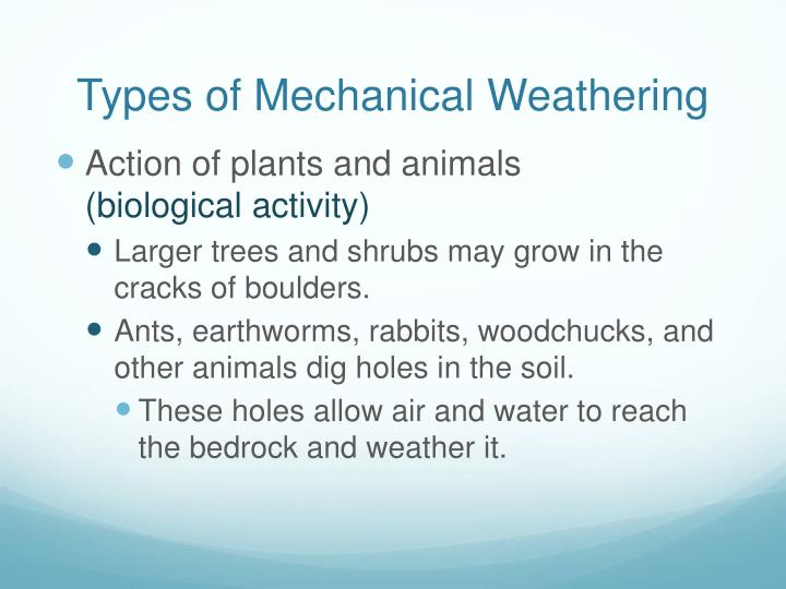 Ppt Weathering Erosion Amp Deposition Powerpoint Presentation
