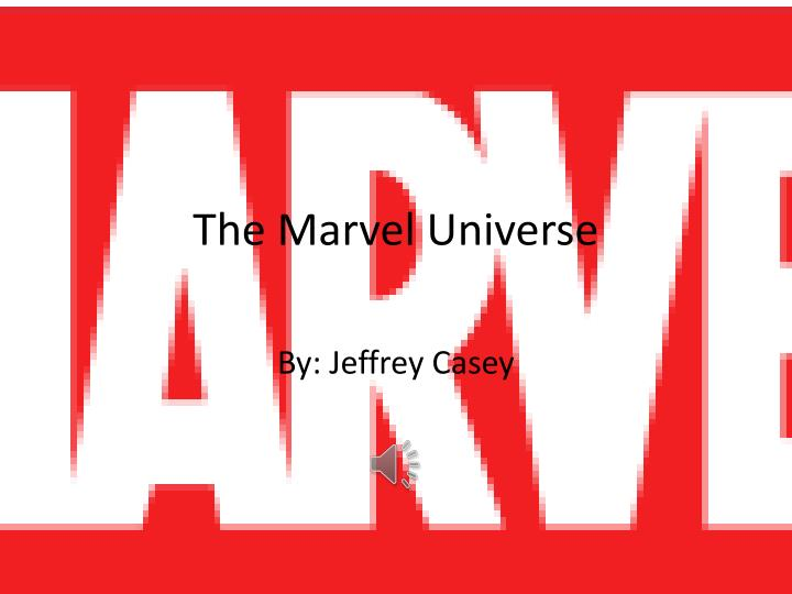 the marvel universe n.