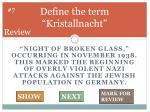define the term kristallnacht